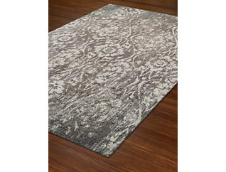 "Gala Steel Distressed 4'11"" x 7' Rug, , large"