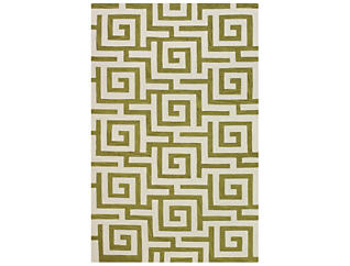 Infinity Citron 5x8 Rug, , large