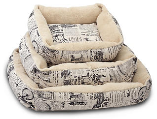 Newspaper Pet Bed-Large, , large