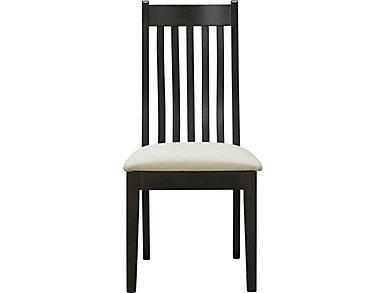 Detroit Dining Upholstered Slat Back Chair, , large