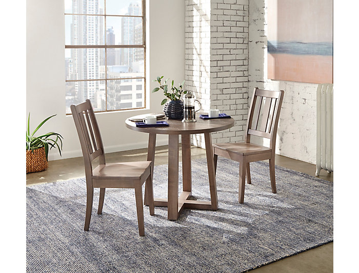 42 Round Dining Table.Detroit Dining 42 Round Dining Table