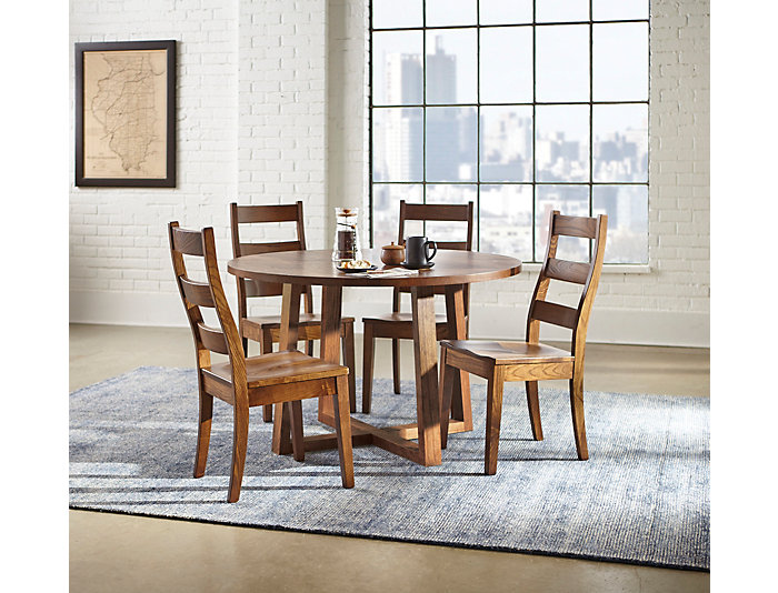 Detroit Dining 48 Round Dining Table Art Van Home