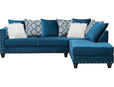 Sapphire 2 Piece Sectional, , large
