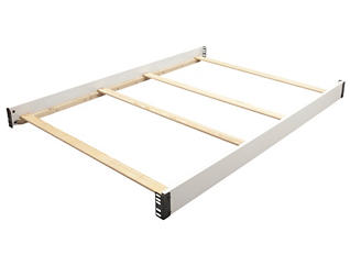 Full Size Bed Rails - White, , large