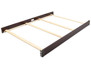 Full Size Bed Rails - Brown, , large
