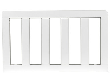 Toddler Guardrail - White, , large