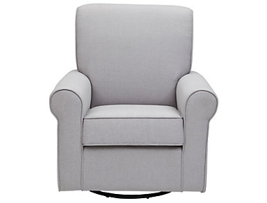 Avery Glider - Heather Grey, , large