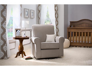 Avery Glider, Taupe, large