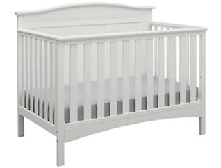 Bennett Convertible Crib - Wht, , large