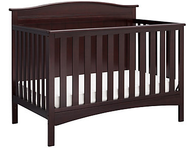 Bennett Convertible Crib -Brwn, , large