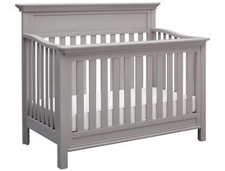 Fernwood Convertible Crib-Grey, , large