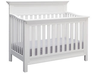 Fernwood Convertible Crib- Wht, , large