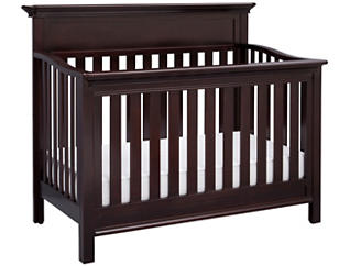 Fernwood Convertible Crib-Brwn, , large
