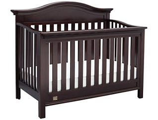 Banbury Convertible Crib -Brwn, , large