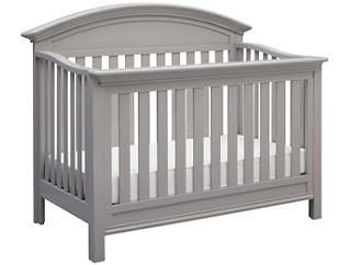 Aberdeen Convertible Crib-Grey, , large