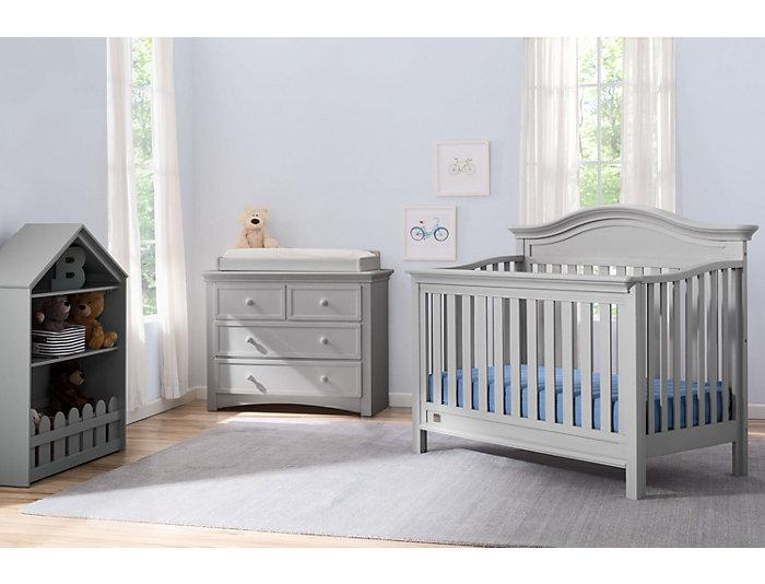 Four Drawer Dresser - Grey, , large