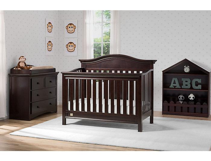 Four Drawer Dresser - Brown, , large