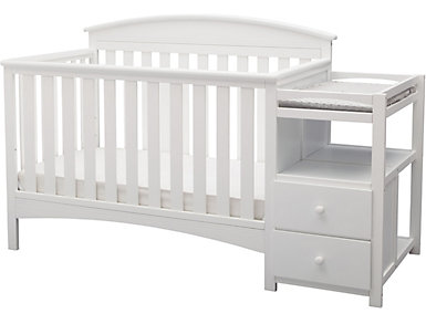 Abby Convertible Crib/Changer, , large