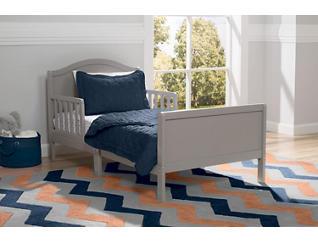 Bennett Wood Toddler Bed Grey, , large