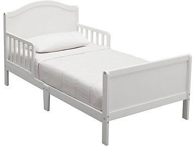 Bennett Wood Toddler Bed White, , large