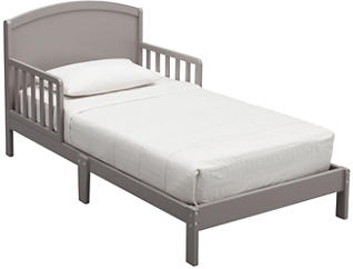 Abby Wood Toddler Bed Grey, , large