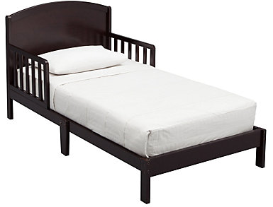 Abby Wood Toddler Bed Brown, , large
