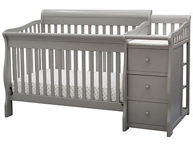Princeton Crib N Changer Grey, , large