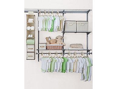 48 Piece Nursery Storage-Beige, , large