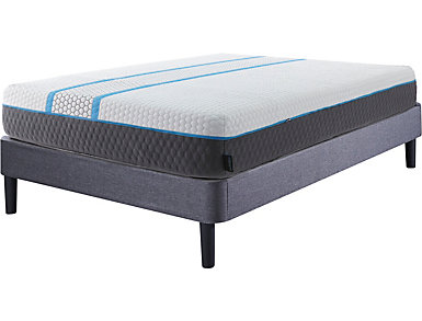 Adrenaline Twin Extra Long Performance Plus Mattress Set, , large