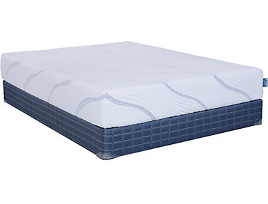 Diamond Sunrise Plush Full Extra Long Mattress, , large