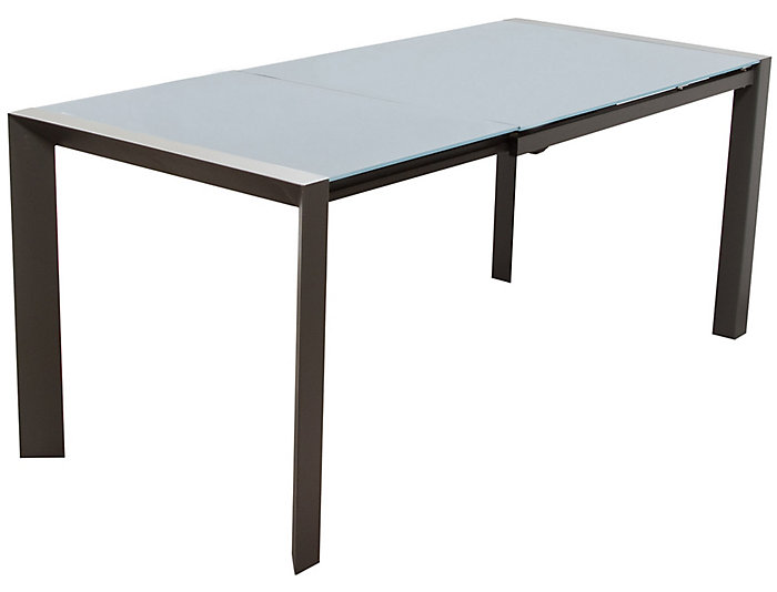 Carbon Glass Extending Table, , large