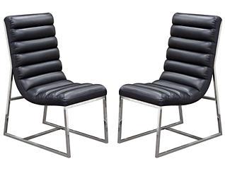 Bardot Black Chair Set of 2, , large