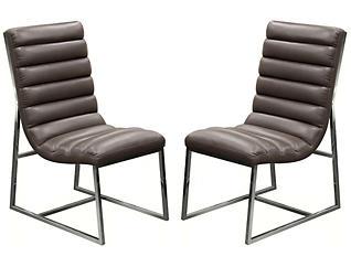 Bardot Grey Chair Set of 2, , large