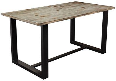 dakota grey dining table