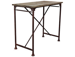 Dixon Grey Bar Table, , large