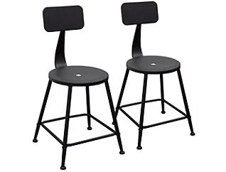 Douglas Black Stools Set of 2, , large
