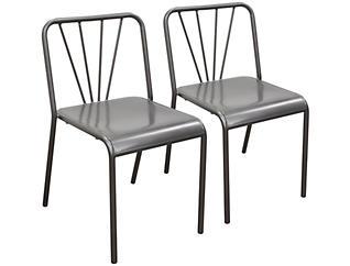Mercer Grey Chair Set of 2, , large
