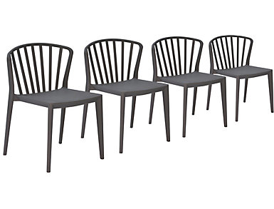 Pax Chair (Set of 4), Grey, , large