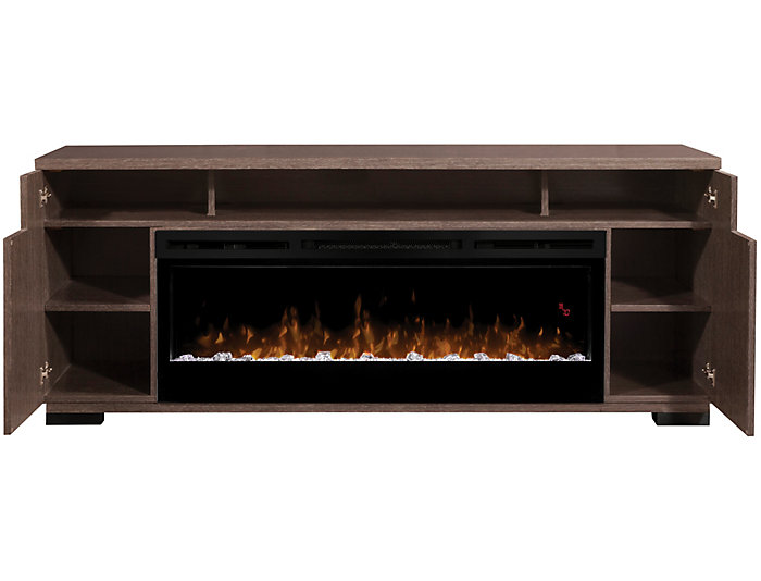 Haley Media Fireplace, , large
