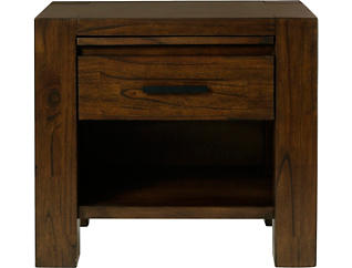 Cascade 1 Drawer Nightstand, , large
