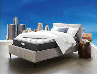 Detroit Mattress Co. Cobo Plush Euro Top Mattress & Foundations, , large