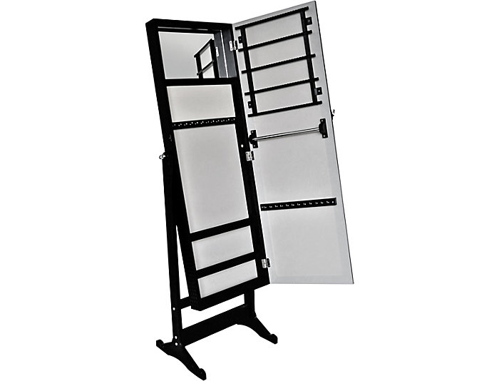 ... Mirrored Jewelry Cabinet, , Large