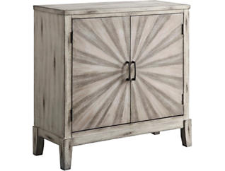 White 2 Door Cabinet, , large