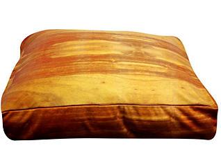 Wooden Floor Pet Bed - Medium, Brown, , large