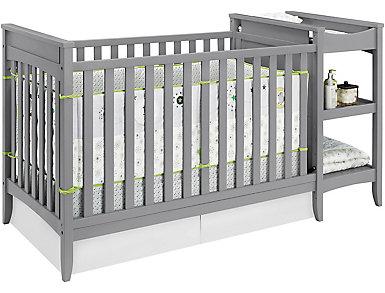 Emma 2-1 Crib Changing Table, , large