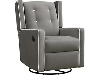Mikayla Swivel Glide Recliner, , large