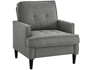 Markell Armchair, Grey, , large