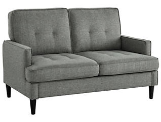 Markell Loveseat, Grey, , large