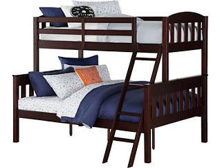Airlie Twin/Full Brown Bunkbed, , large