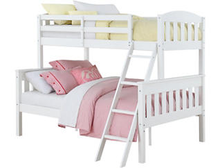 Airlie Twin/Full White Bunkbed, , large